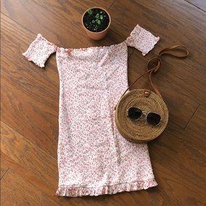 Vici Collection Skylar Madison Smocked Tube Dress